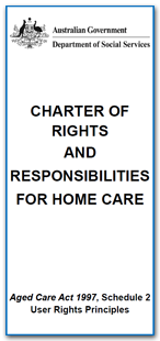 Charter of Rights for Home Care