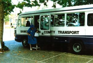 Old Bankstown Community Transport Bus